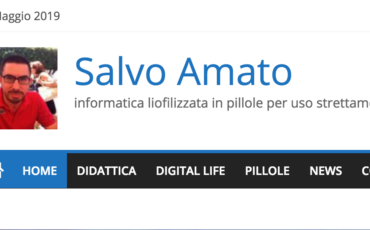 il blog di Salvo Amato