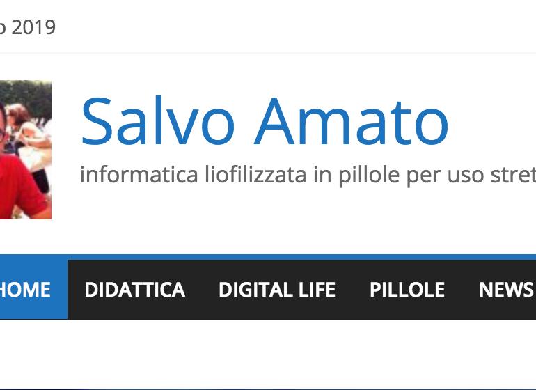 il blog di Salvo Amato