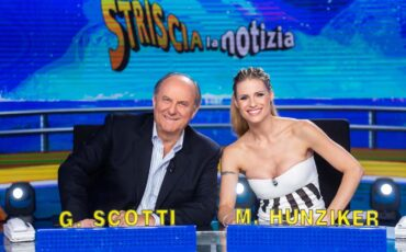 striscia gerry-scotti-e-michelle-hunziker